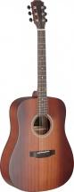 Jn Guitars Dev-d Bbst Dread Ac.gt-solid Mahog Bbst