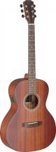 Jn Guitars Dev-pfi Bbst E/a Parlor Gt-solid Maho/maho