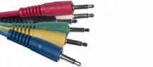 Stagg Cable De Patch 6 X Mini Jack/mini Jack (m/m) 15 Cm