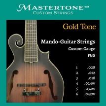 Gold Tone Fgs Mando Guit.f-styl Cust.strings