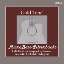 Gold Tone Mblns Microbass Labella Slv Wnd Strg