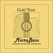 Gold Tone Mbs Microbass Rubber/polymer Strg
