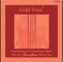 Gold Tone Mbls Microbass Labella Flat Wnd Str