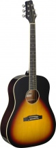 Stagg Gaucher Sa35 Ds Vintage Sunburst Lh