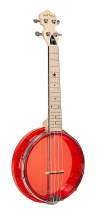 Gold Tone Lg-r Little Gem Banjo Uke Ruby+bag