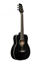 Stagg Sa20d 1/2 Bk Dreadnought 1/2 Noire