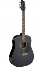 Stagg Sa20d 3/4 Bk Dreadnought 3/4 Noire