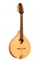 Gold Tone Mandoline Alto Irlandaise Traditionnelle Avec étui