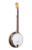 Gold Tone Banjo Marple Classic Avec Cercle De Résonance En Acier Et étui Rigide