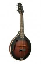 Gold Tone Guitare Mandoline Avec Corps De Type A Et Housse