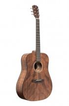 Jn Guitars Guitare Acoustique Dreadnought Avec Table En Acajou Massif, Série Dovern