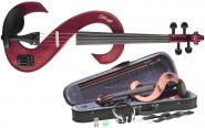 Stagg Set Violon Electrique 4/4 - Rouge