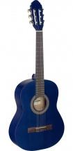 Stagg Guitare Classique 3/4 Bleu