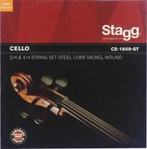 Stagg Cello String Set/steel