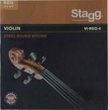 Stagg Viol.str.set/steel/reg-3/4/4
