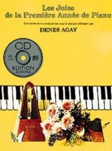 Agay D. - Les Joies De La Premiere Annee De Piano + Cd