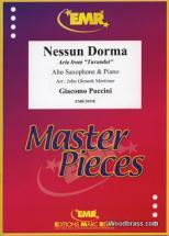 Puccini Giacomo - Nessum Dorma (aria From Turandot) - Saxophone Alto & Piano