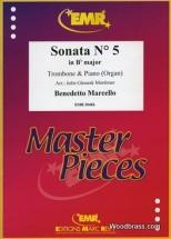 Marcello B. - Sonata N°5 In Bb Major - Trombone & Piano