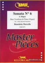 Marcello Benedetto - Sonata N°6 In G Major - Bass Trombone & Piano