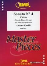 Vivaldi Antonio - Sonata N°4 In Bb Major - Hautbois & Piano