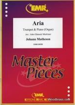 Matheson Johann - Aria - Trompette & Piano