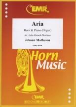 Matheson Johann - Aria - Cor & Piano