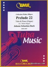 Bach J.s. - Prelude Xxii - Tuba & Piano