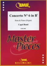 Bond Capel - Concerto N°6 In Bb Major - Horn & Piano