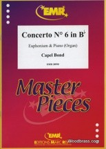 Bond Capel - Concerto N°6 In Bb - Euphonium & Piano