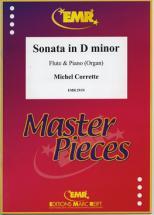 Corrette Michel - Sonate In D Minor - Flute & Piano