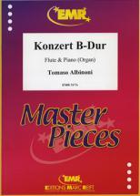 Albinoni Tomaso - Konzert B-dur - Flute & Piano