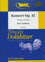 Tamberg Eimo - Konzert Op.42 - Trompette and Piano