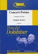 Krukov Vladimir - Concert-poeme - Trompette & Piano