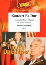 Albinoni Tomaso - Concerto Es-dur - Trompette and Piano