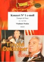 Peskin V. - Konzert C-moll Nr 1 - Trompette Et Piano