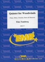 Tamberg Eino - Quintet For Woodwinds Op.50