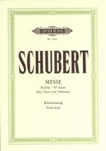 Schubert Franz - Mass No.6 In E Flat D950 - Mixed Choir (par 10 Minimum)