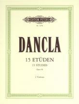 Dancla - 15 Studies Op.68 - 2 Violins
