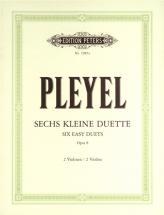 Pleyel Ignaz Joseph - 6 Easy Duets Op.8 - Violin Duets