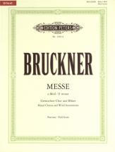 Bruckner Anton - Mass No.2 In E Minor (1882 Version) - Mixed Choir (par 10 Minimum)