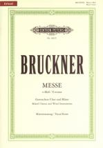 Bruckner Anton - Mass In E Min (2nd Version 1882) - Vocal Score (par 10 Minimum)