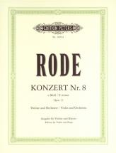 Rode - Violin Concerto No.8 In E Minor - Violin