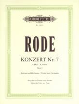 Rode Pierre - Concerto No.7 In A Minor - Violin And Piano