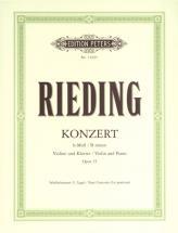 Rieding O. - Violin Concerto In B Minor Op.35 - Violin And Piano