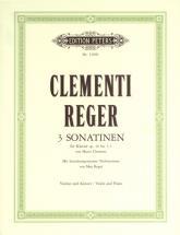 Clementi Muzio - 3 Sonatinas Op.36 Nos. 1-3 - Violin And Piano