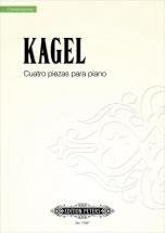 Kagel Mauricio - Cuatro Piezas Para Piano