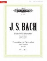 Bach J.s. - Suites Francaises Bwv 812-817 / Ouverture Francaise Bwv 831 - Piano