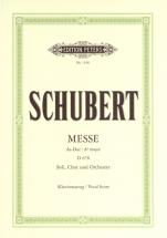 Schubert Franz - Mass Ab Major D.678 - Vocal Score (par 10 Minimum)