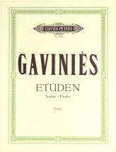 Gavinies Pierre - 24 Etudes