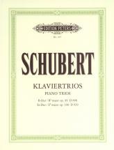 Schubert Franz - Piano Trios In B Flat Op.99; E Flat Op.100 - Piano Trios